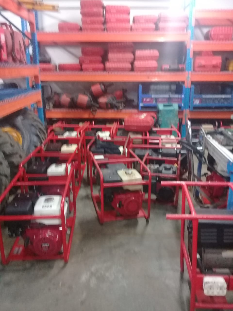 VARIOUS SMALL PLANT MACHINES FOR SALES