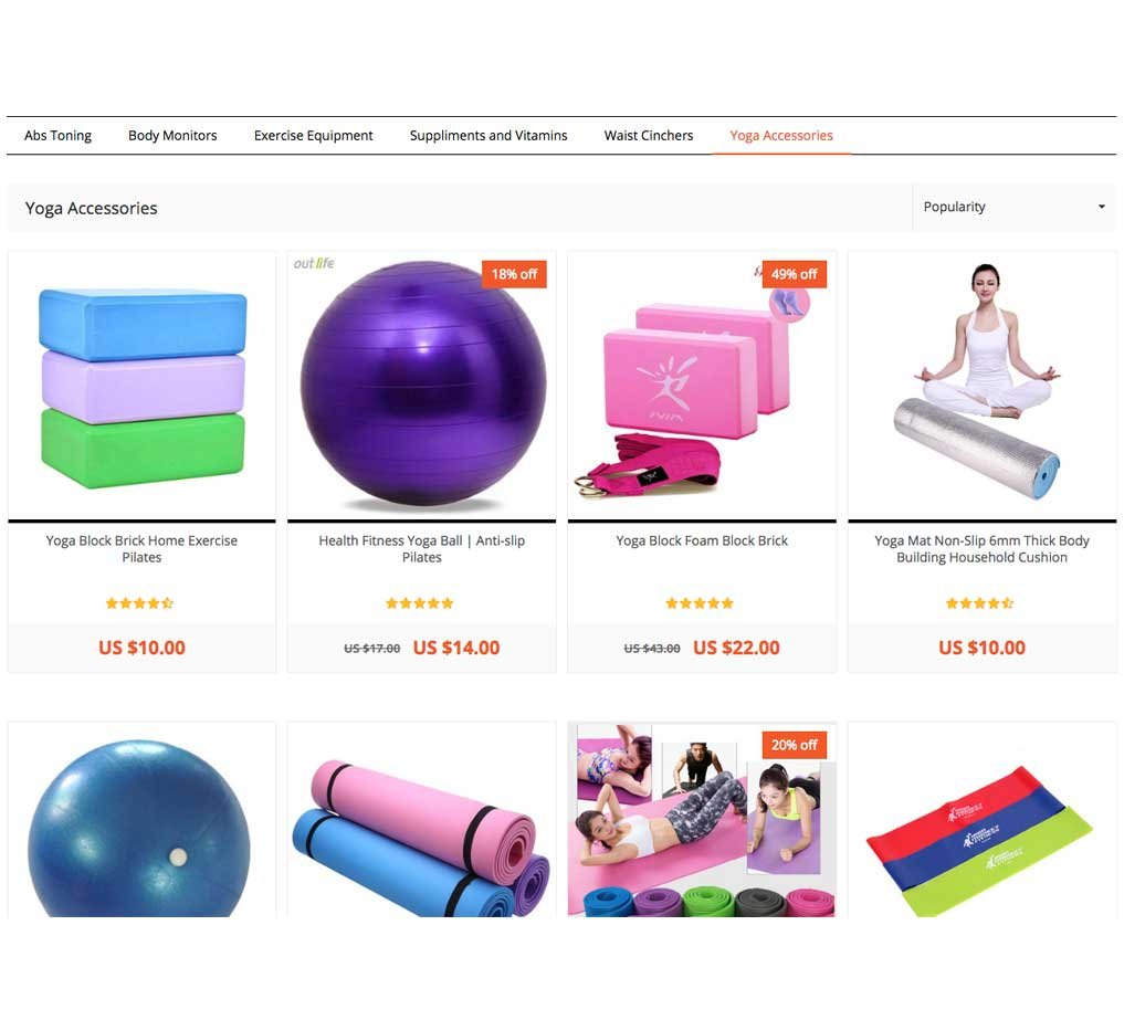 Fitness Gym Store