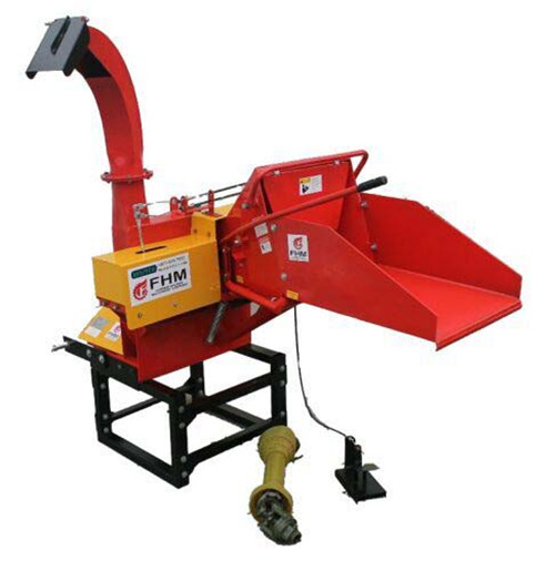 WC Wood Chipper Features.Quick hitch ready