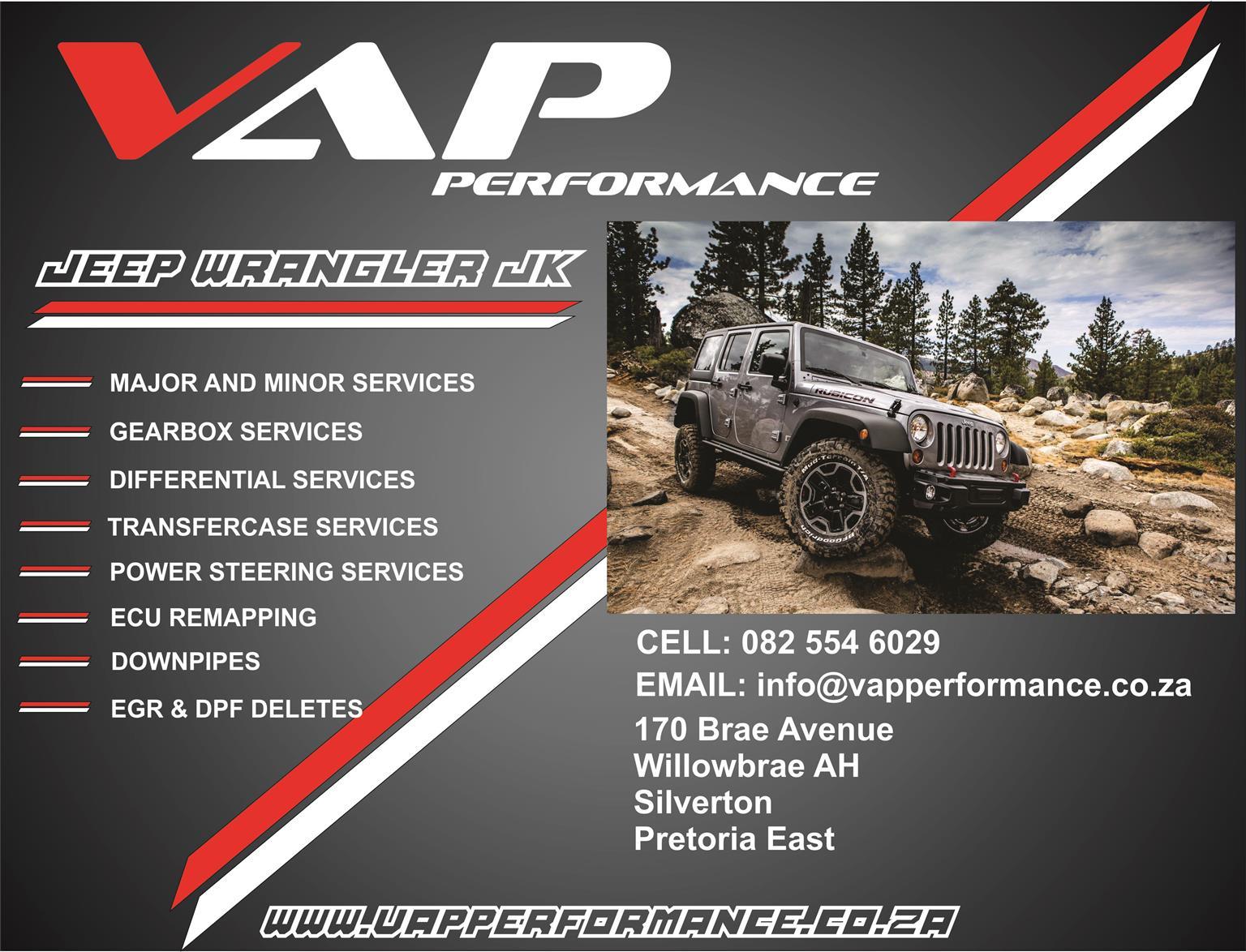 Jeep Wrangler Services