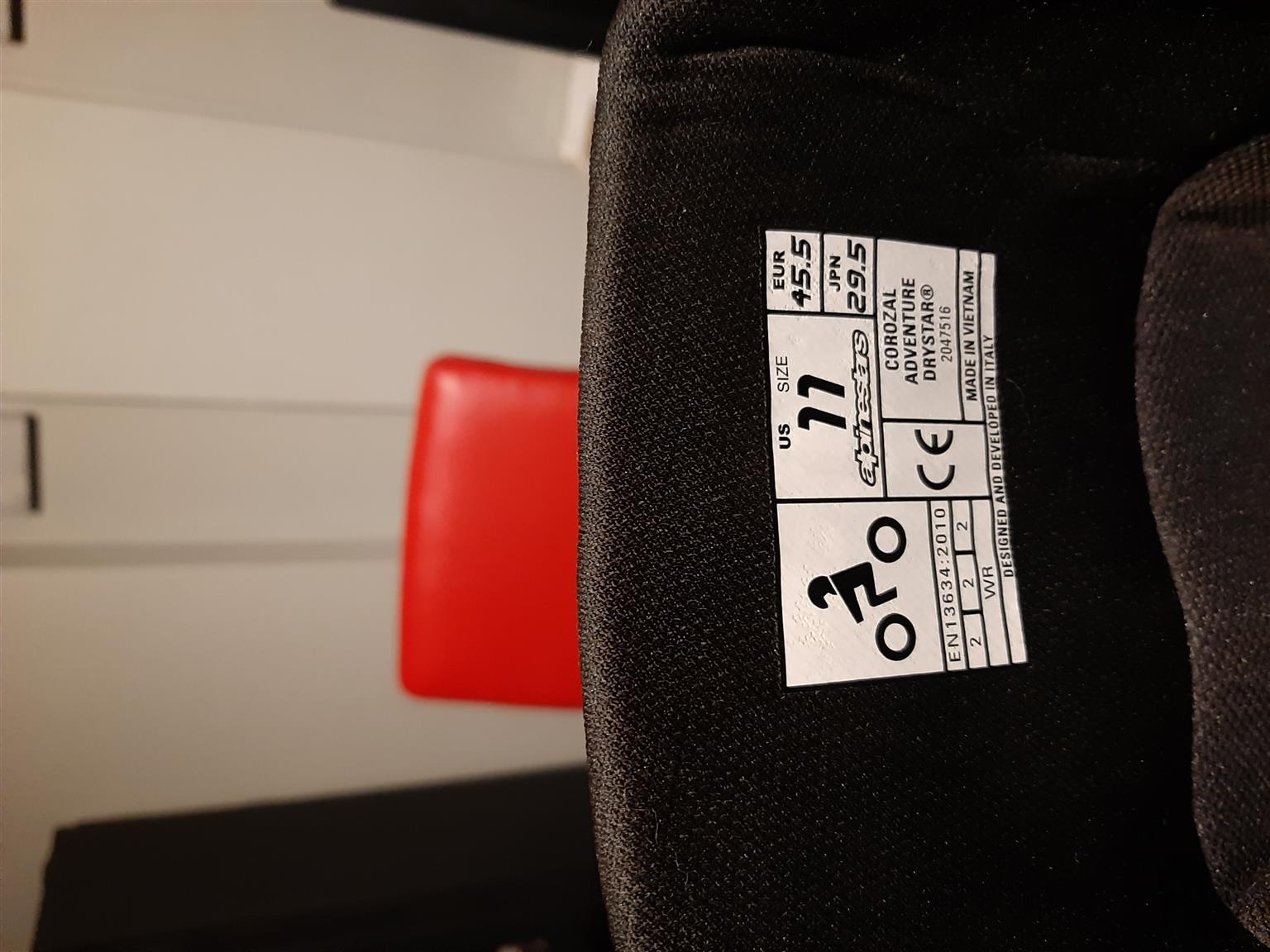 Alpinestars Boots On/Offroad UK10