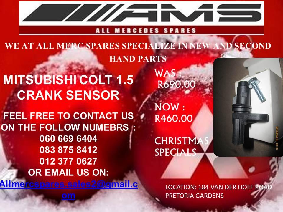 CHRISTMAS SPECIALS!! MITSUBISHI COLT 1.5 CRANK SENSOR FOR SALE