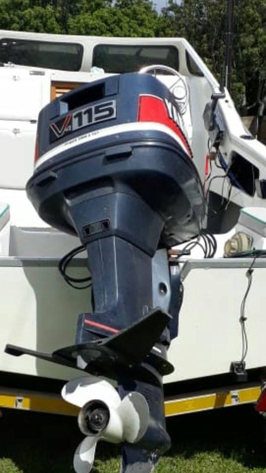 Yamaha 115hp v4