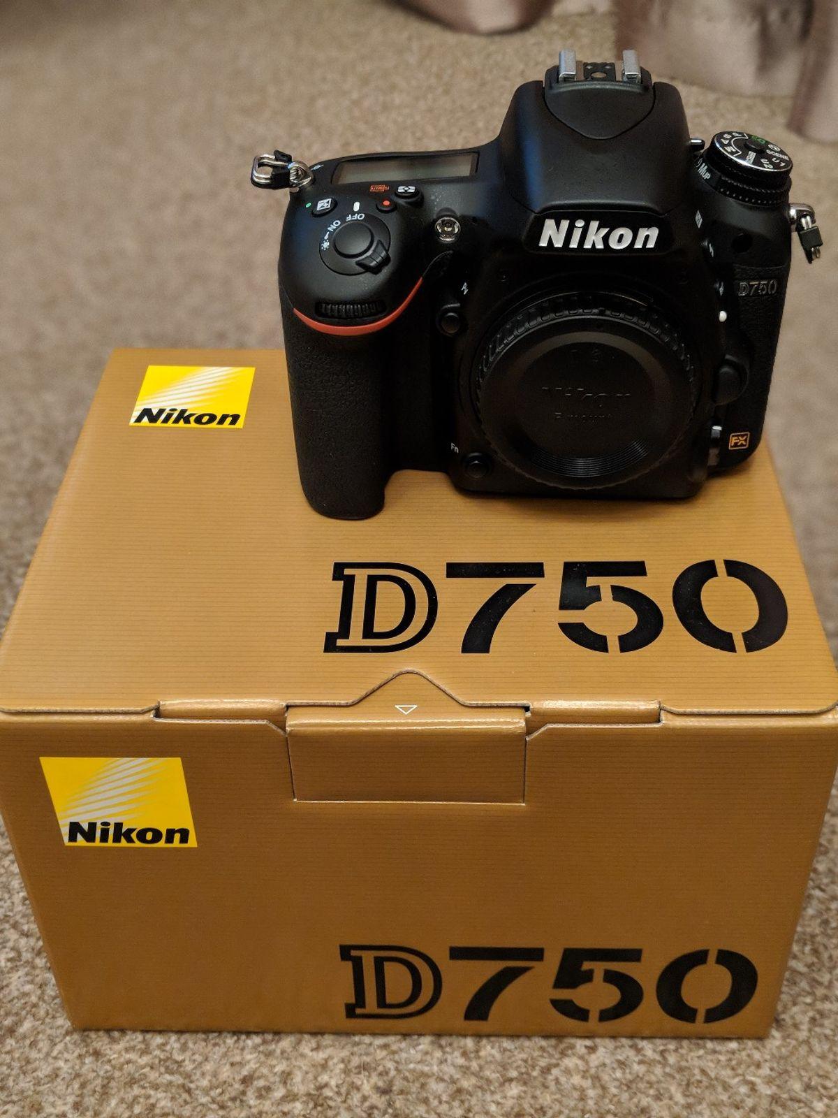 Nikon D750 preused camera