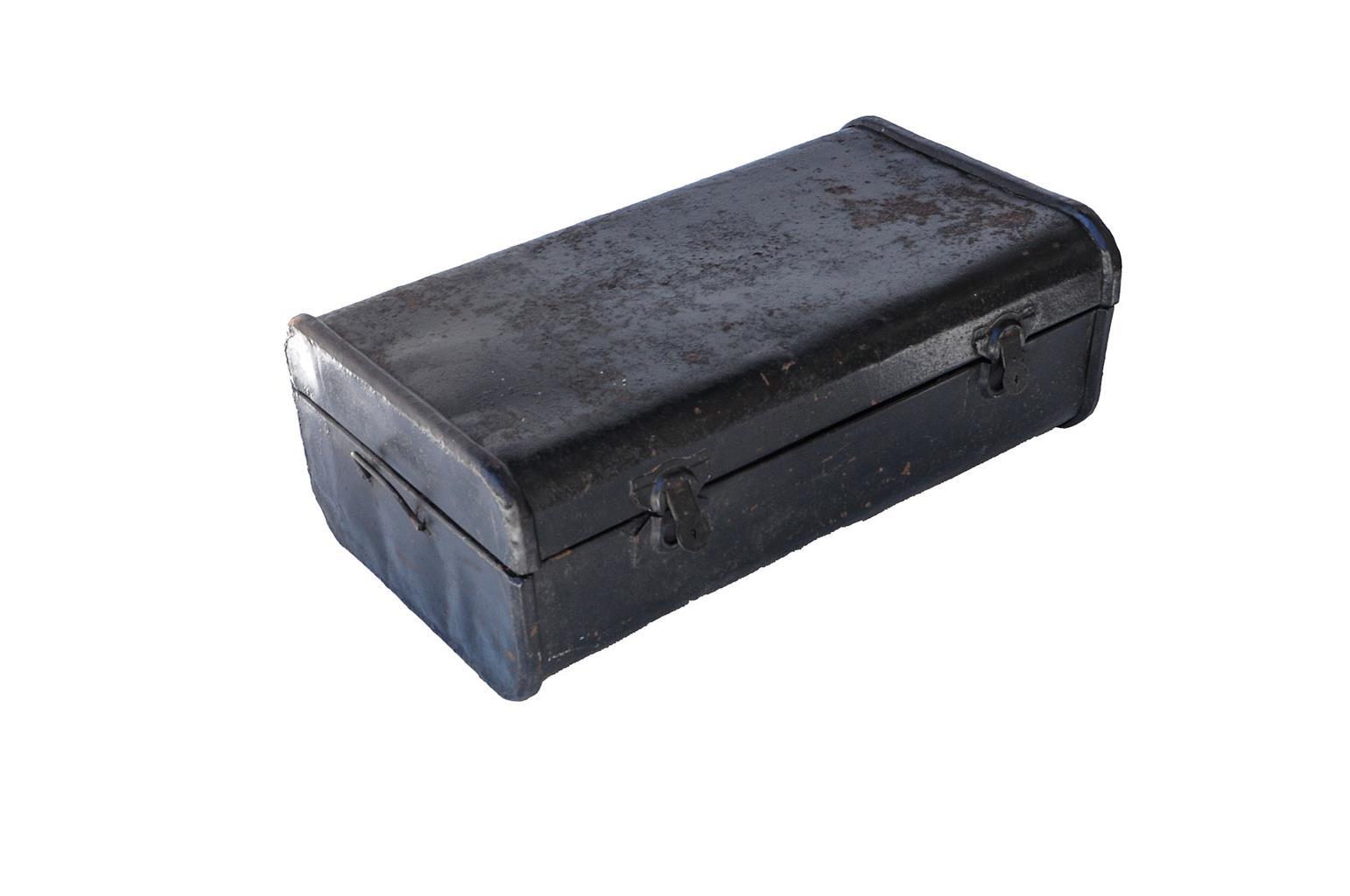 Vintage Metal Trunk - SKU 840