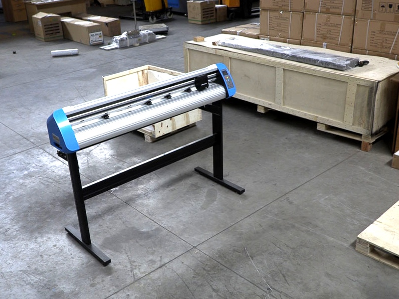 V3-447P V-Smart Contour Cutting Vinyl Cutter 440mm Working Area, Front/Back Cutting