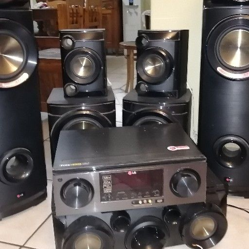 LG 5 channel home theater system