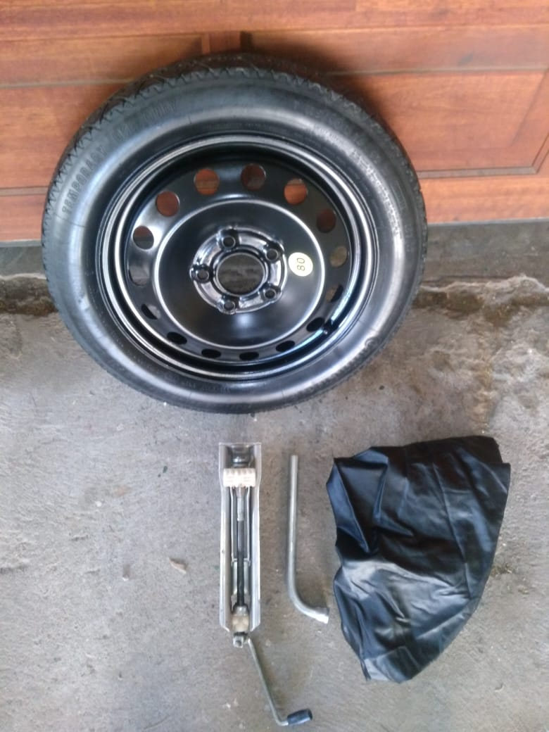 Bmw 320i 320d E90 16 Inch Biscuit Spare Wheel With Jack Spanner