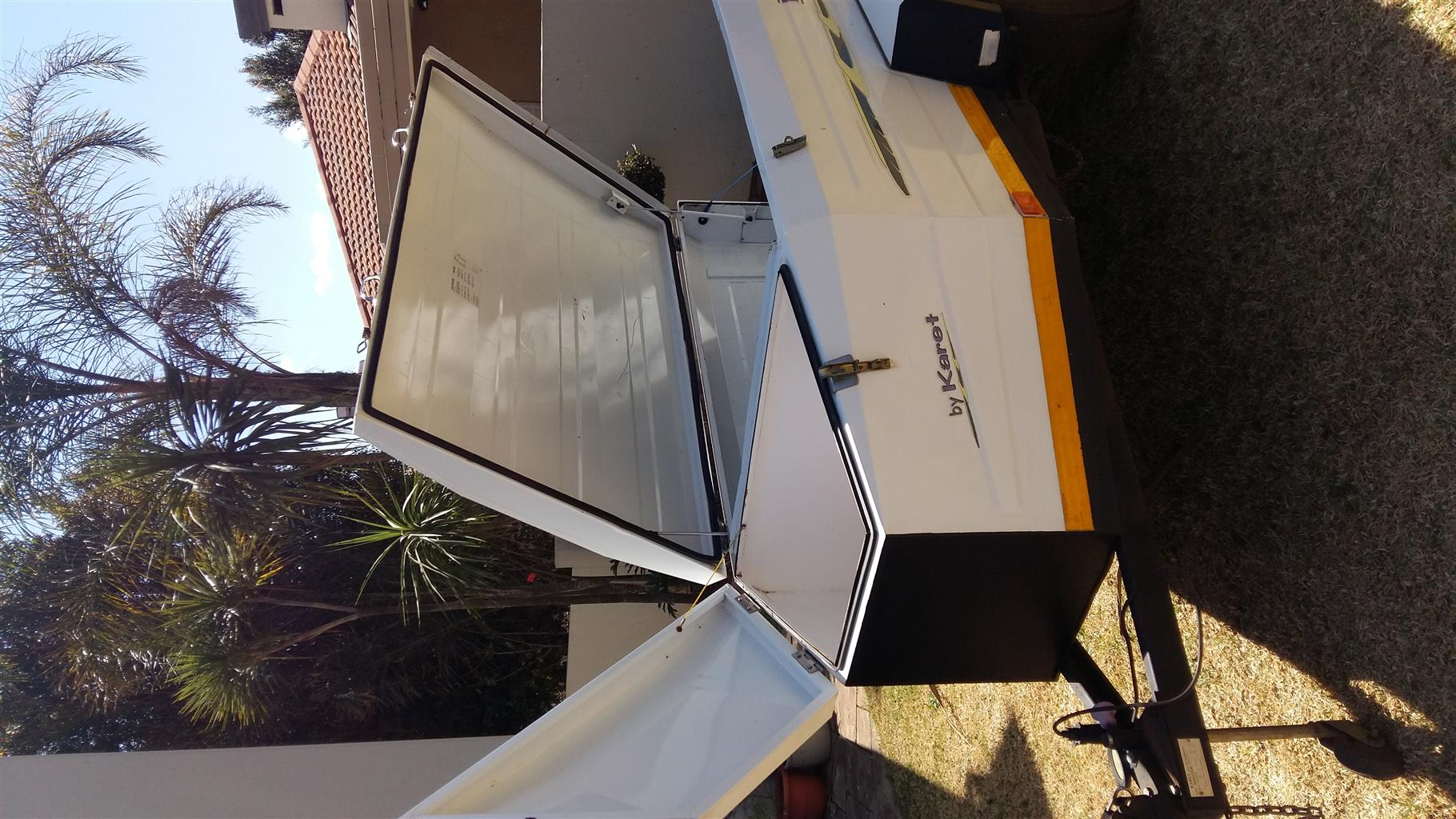 Karet Town & Country Camp Master MK2   1800TX Trailer with Nosecone