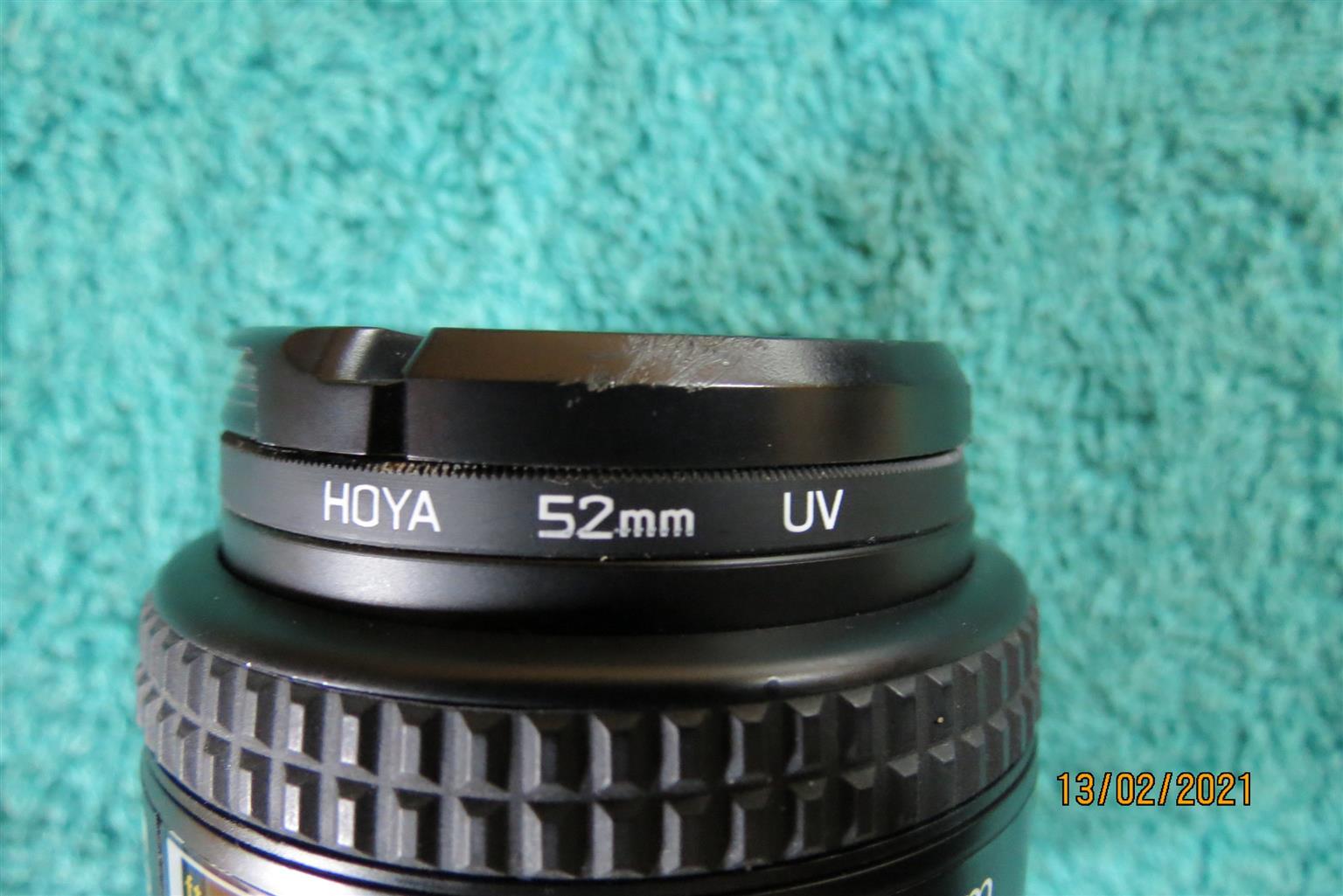 Nikon 50 mm 1:1.4 D f stop lens
