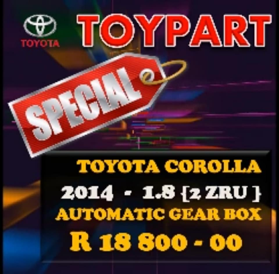 Professional engine, gearbox & parts TOYPART SA