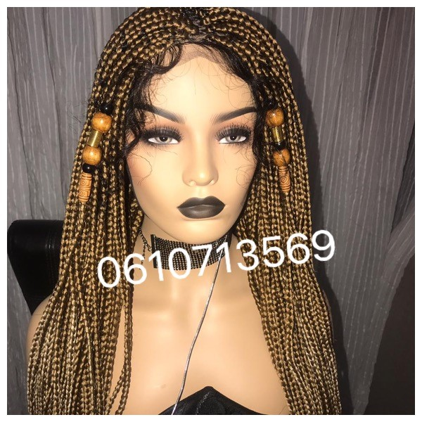 GODDESS BLONDE BRAIDED LACE FRONTAL WIGS AND MORE