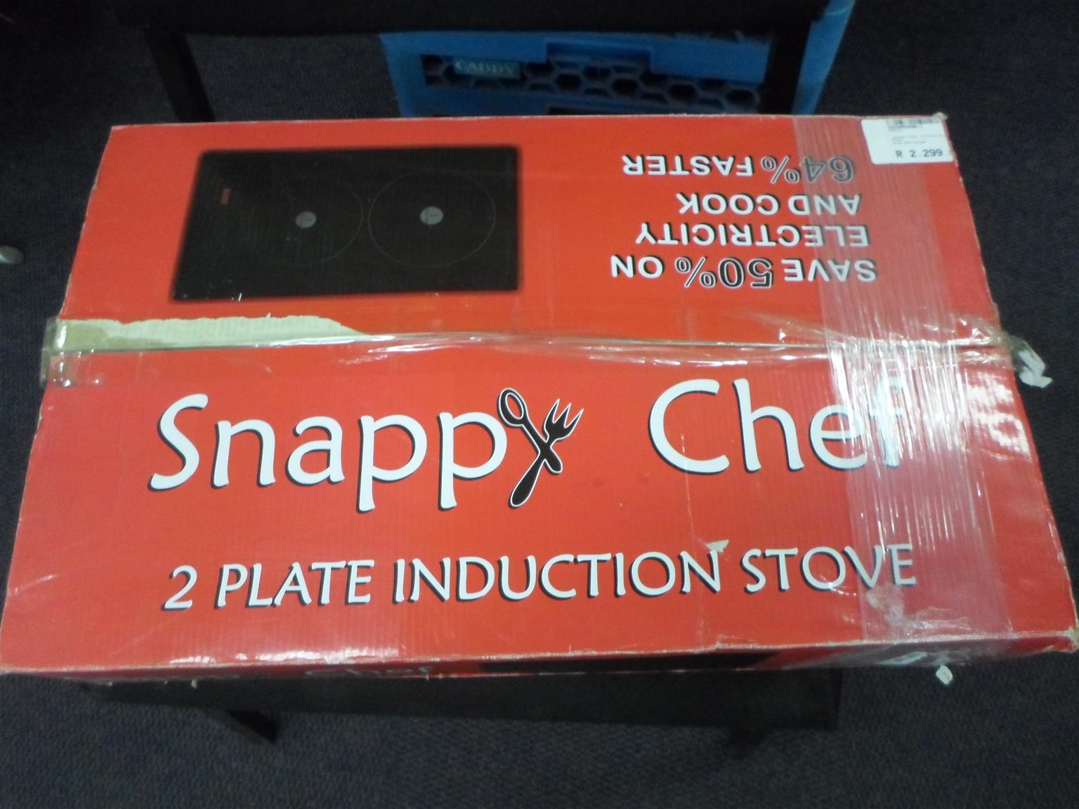 Snappy Chef 2 Plate Induction Stove