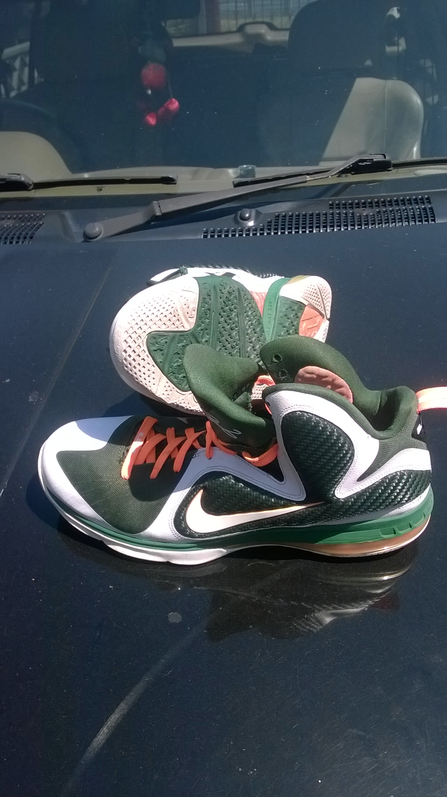 Lebron James Nike Nine Sneakers For Sale