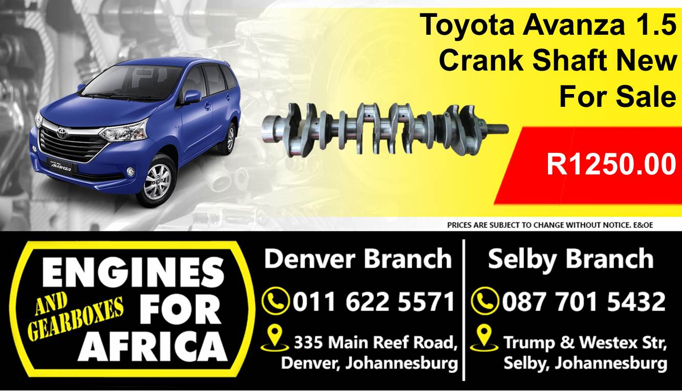 Toyota Avanza 1.5 Crankshaft New For Sale