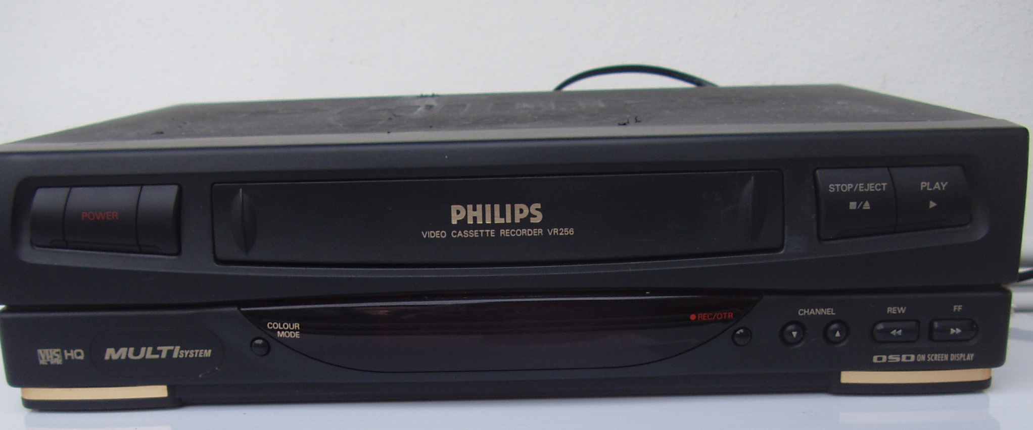 Philips VCR - VR 256 - Video Machine - in good working order