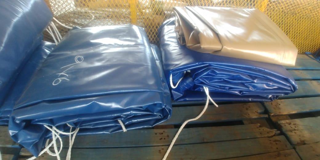 heavy duty pvc truck covers/tarpaulins and cargo nets