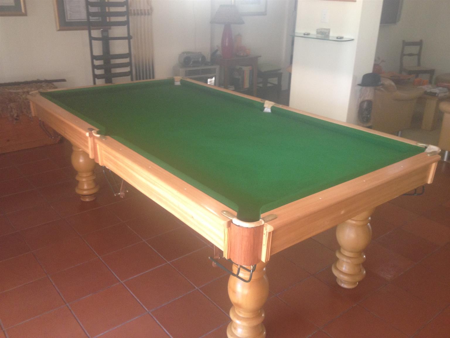 Pool Table unique 3 quarter - R30000