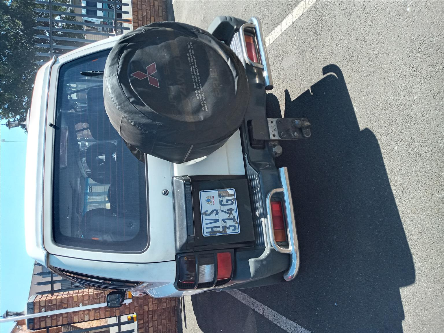 I want to swop my 3.5 l outomatic pajero for a bouble cap bakie