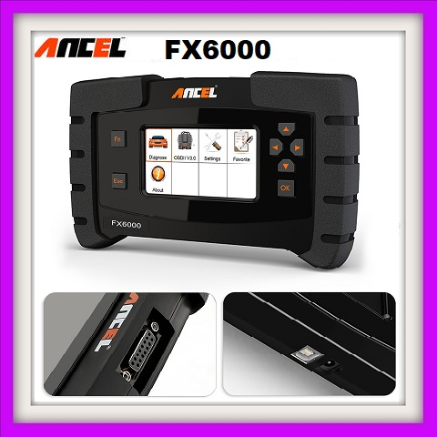 Diagnostic tool Ancel FX6000 OBD2 All System ODB2 Scanner Automotive Code Reader For Key EPB IMMO DPF SAS TMPS Immo Programming.