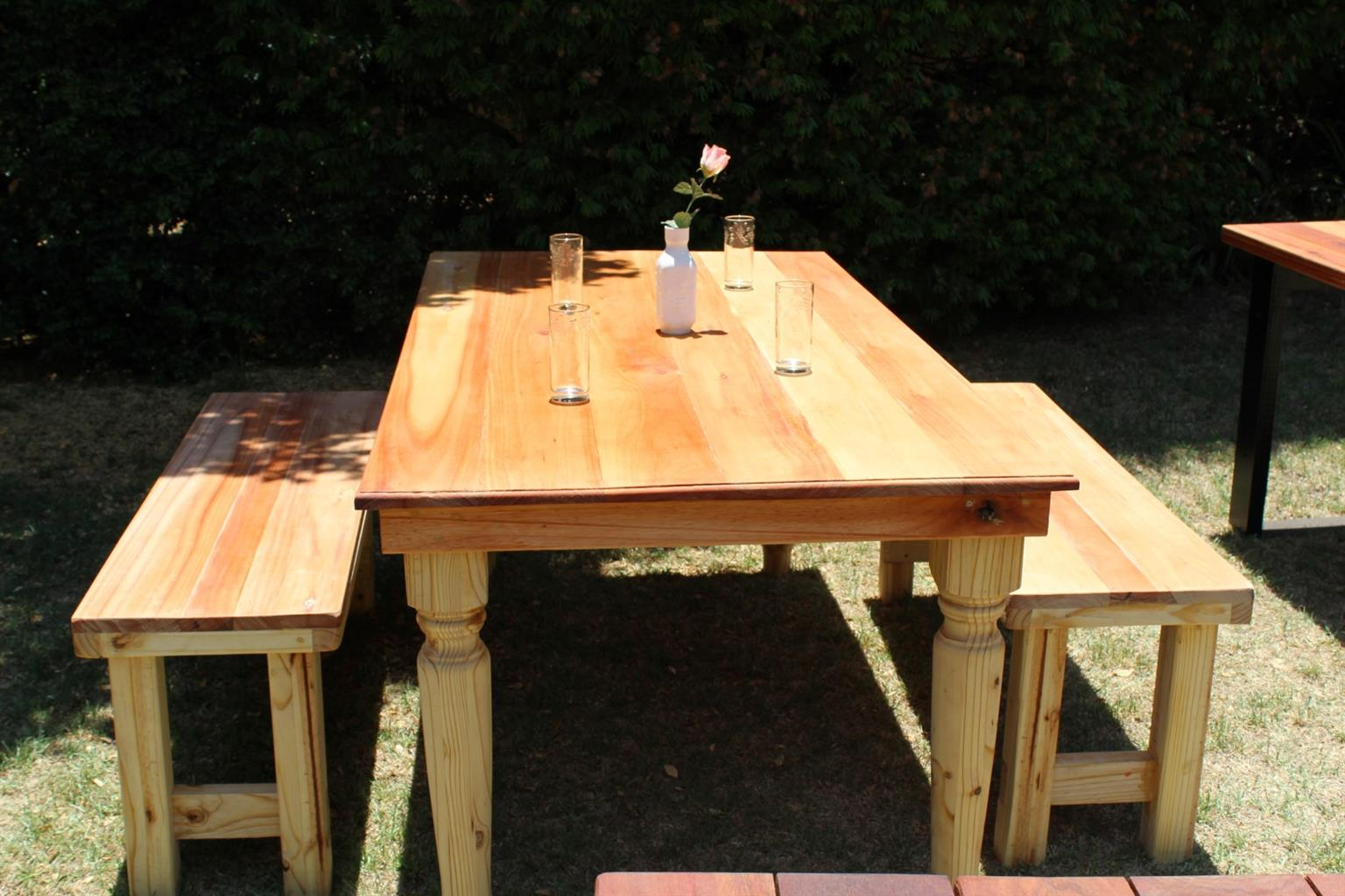 New Patio/Dining Table