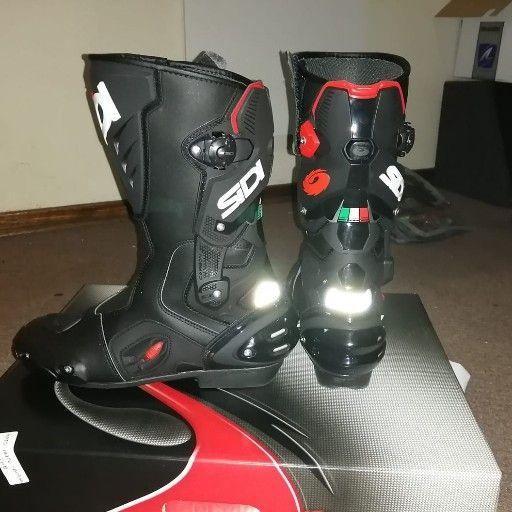 Sidi boots.