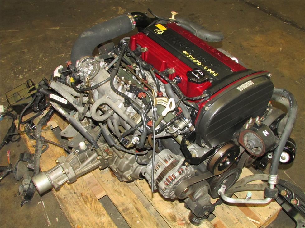 JDM 01-03 Mitsubishi Lancer EVO 7 2 0L 4G63 Turbo Engine & Auto AWD  Transmission
