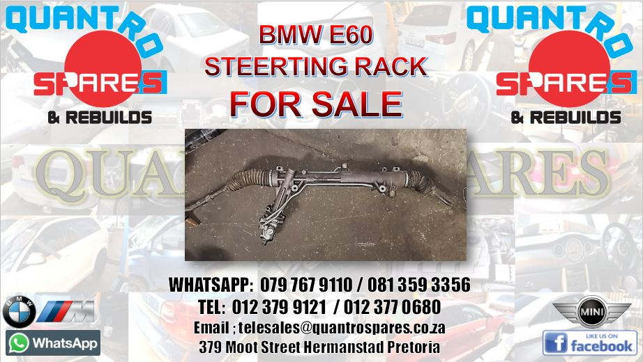 Suspension and Steering Steering Racks