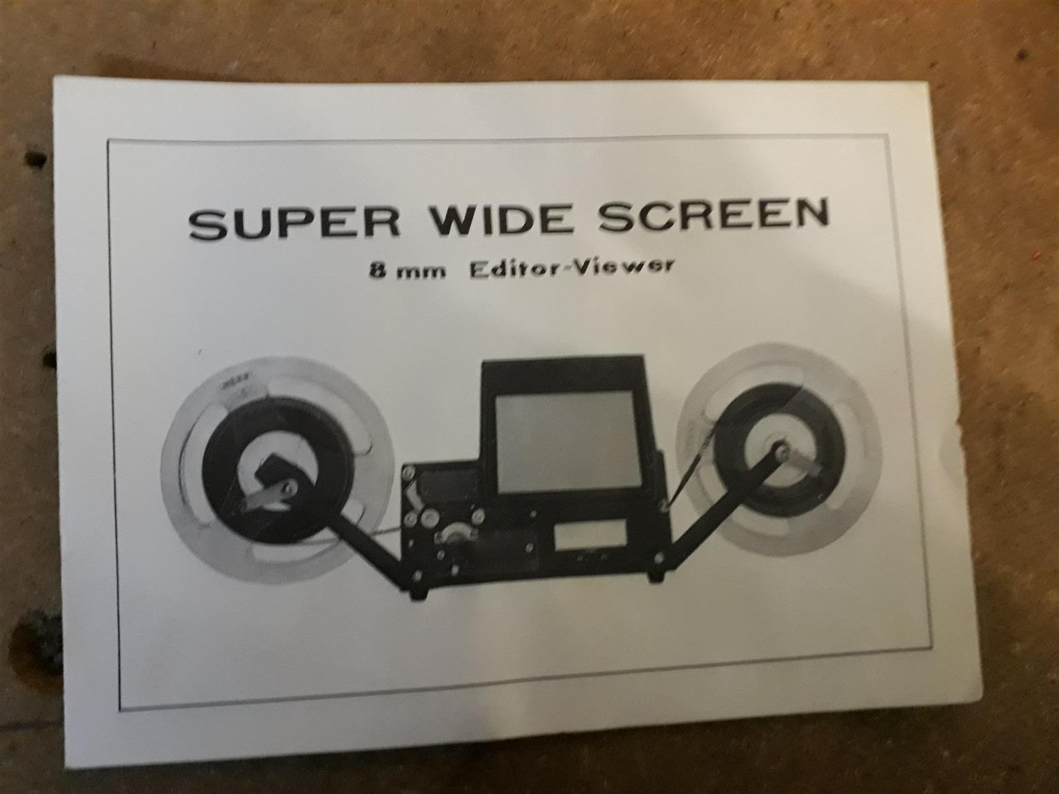 Editor Viewer 8mm