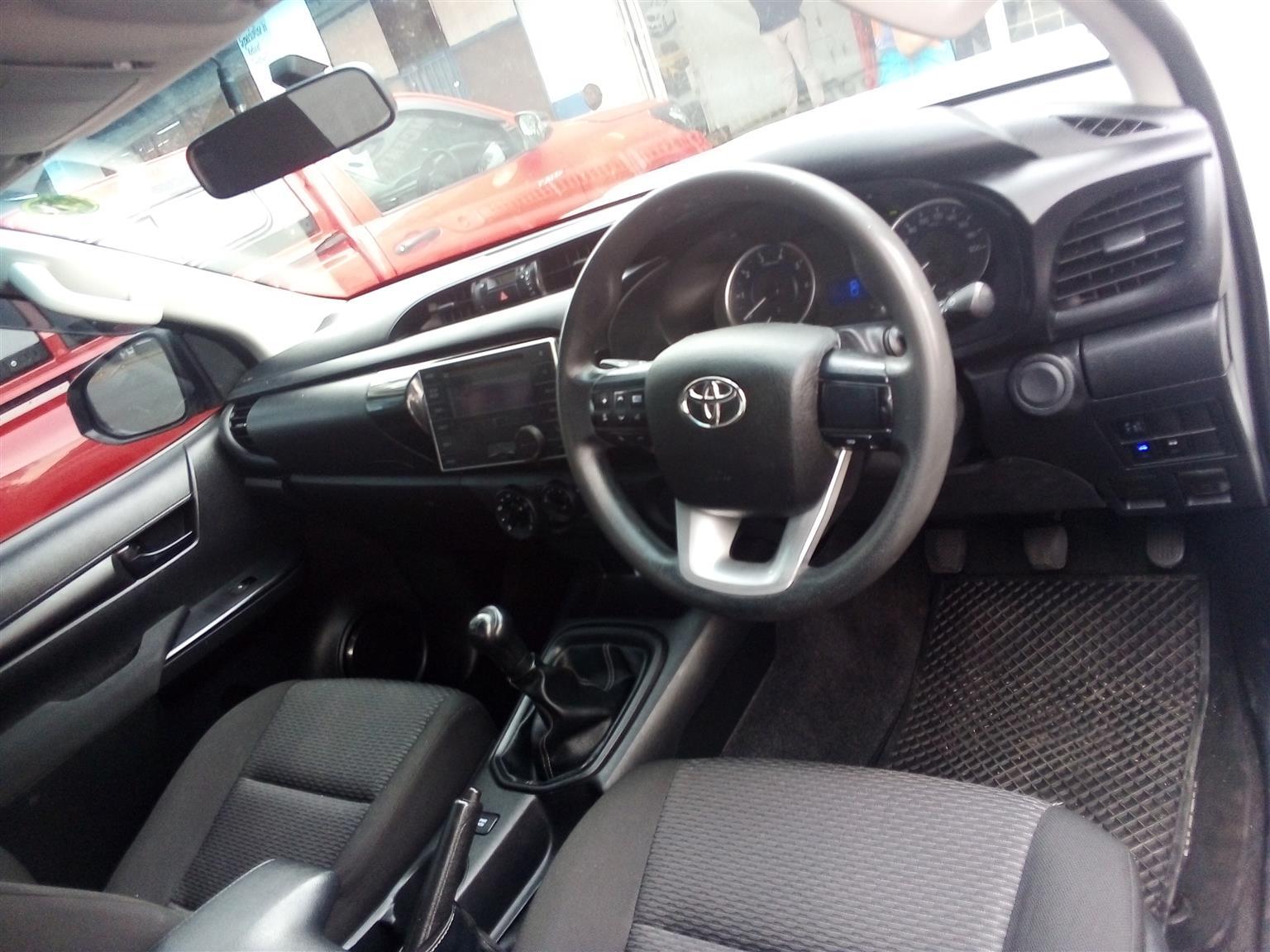 2017 Toyota Hilux 2.4GD