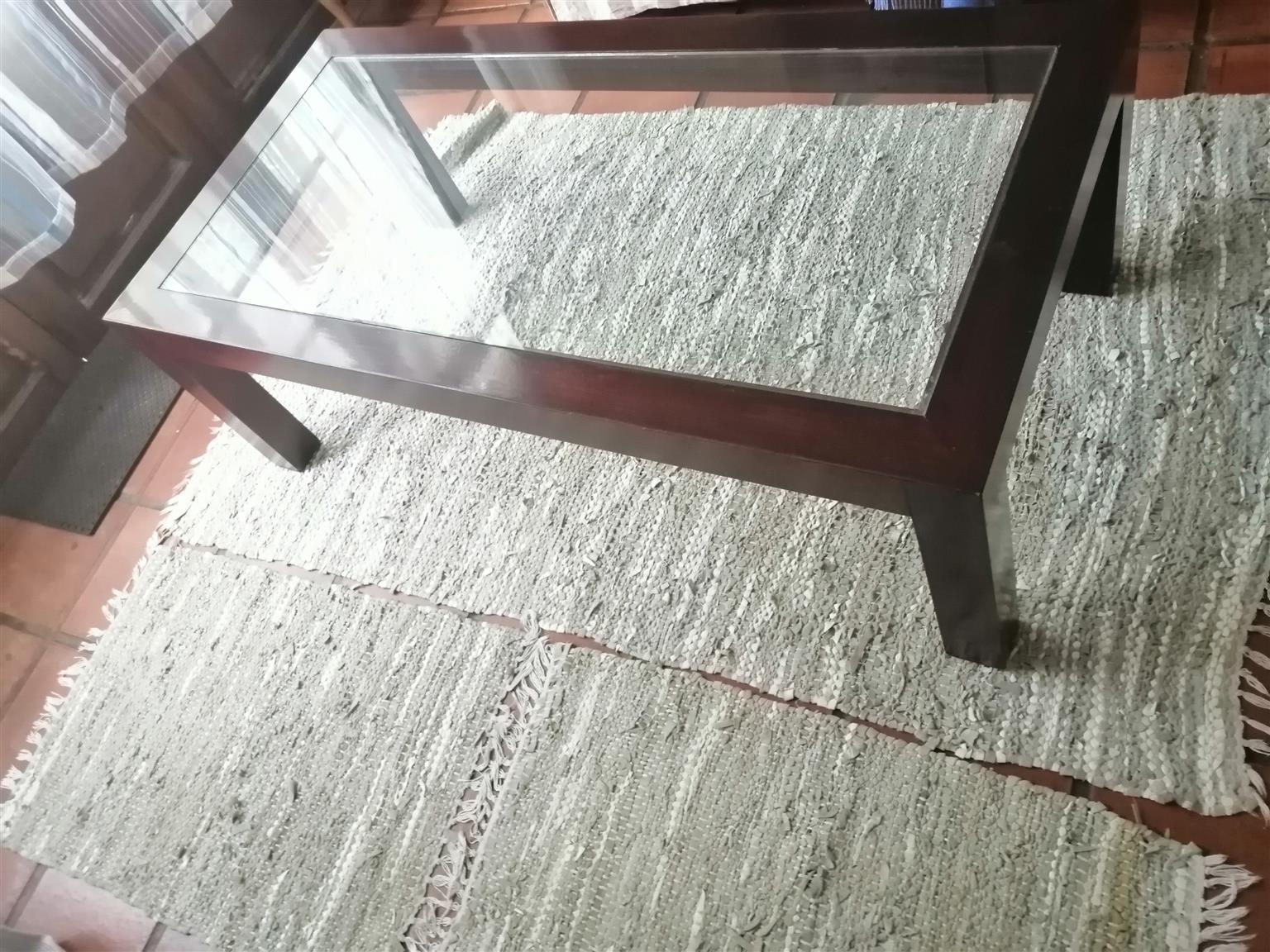Coffee table & Mirror