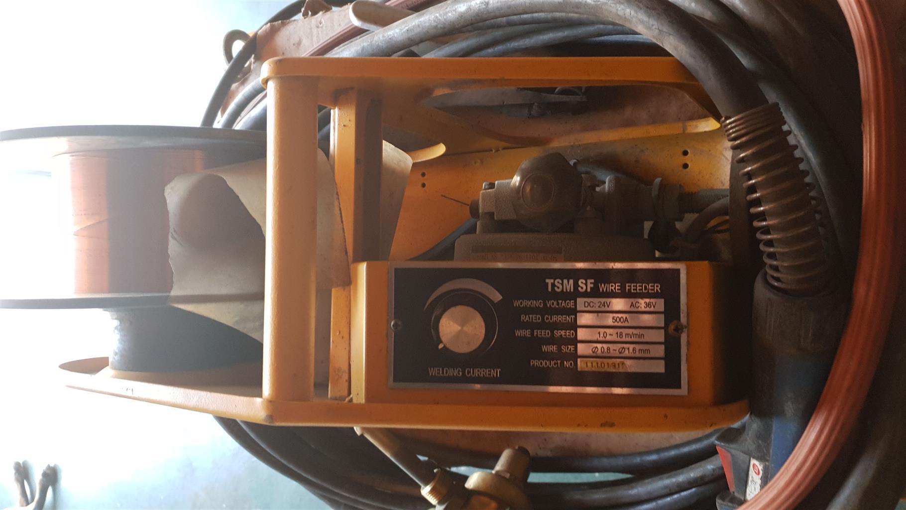 Thermamax Co2 welding machine 380 volt