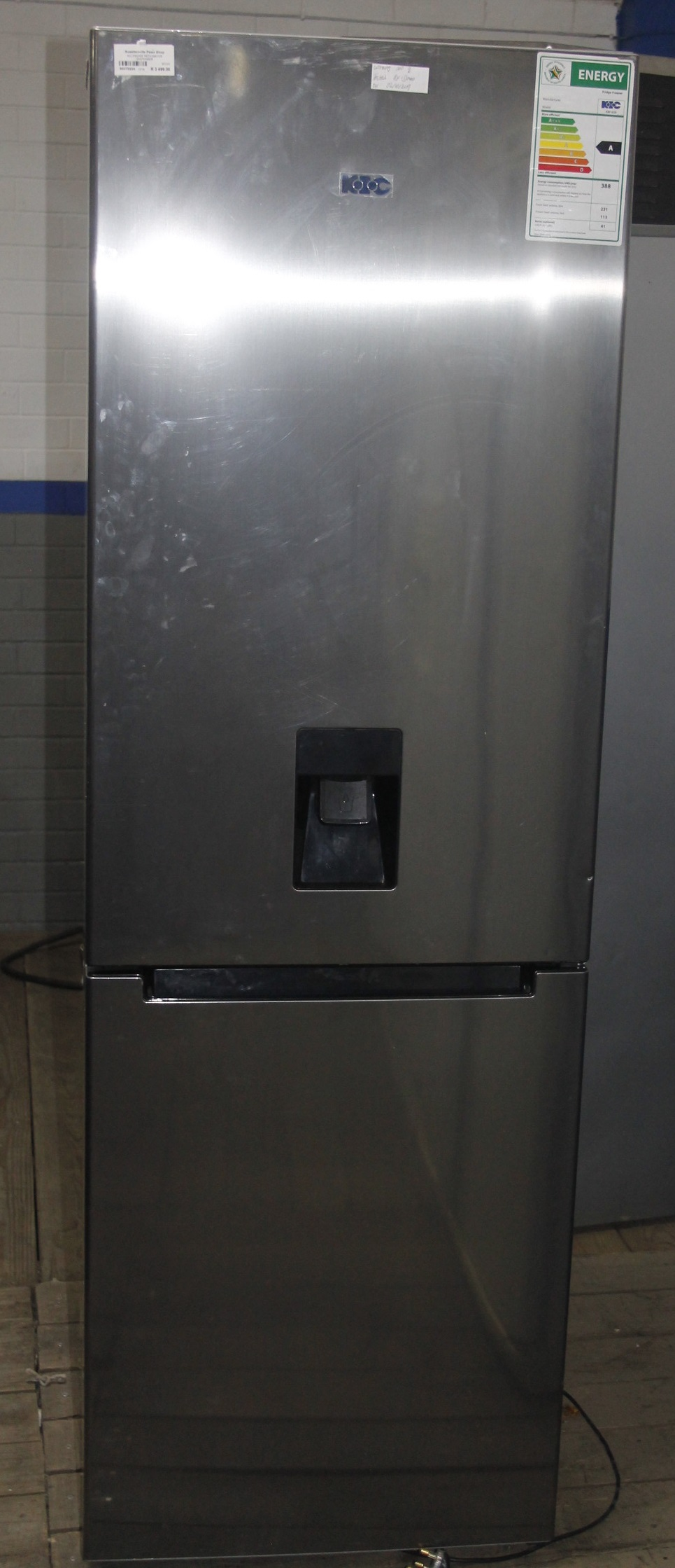 KIC fridge with water dispenser S037022A #Rosettenvillepawnshop
