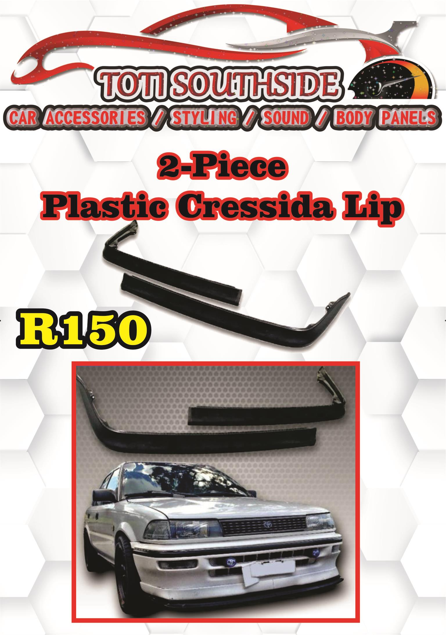 Toyota Cressida 2 Piece front Lip