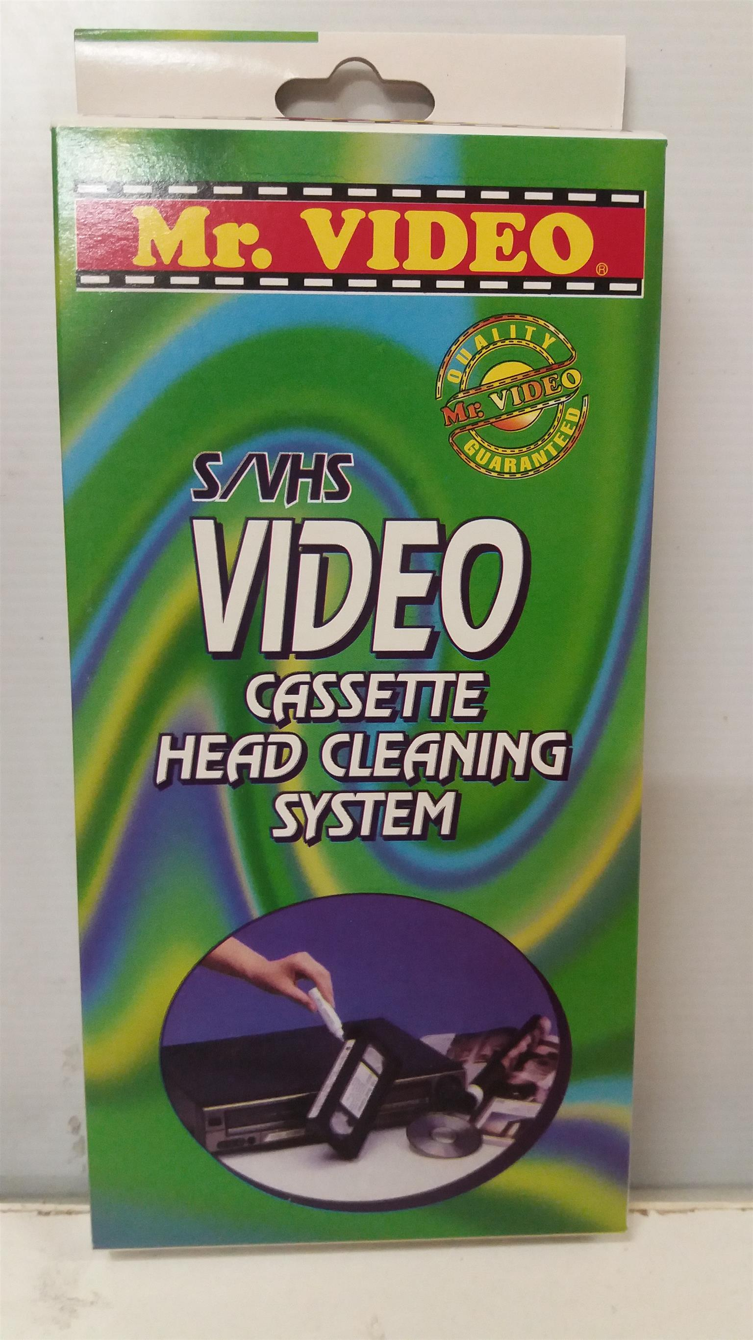 VHS Head Cleaner Combo Special