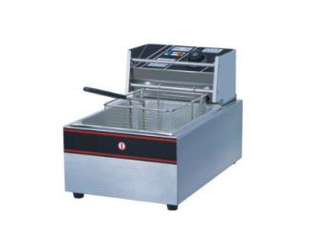 Electric Fryer 1-Tank 1-Basket