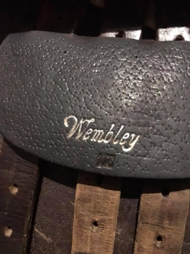 """17"""" Wembley Saddle"""