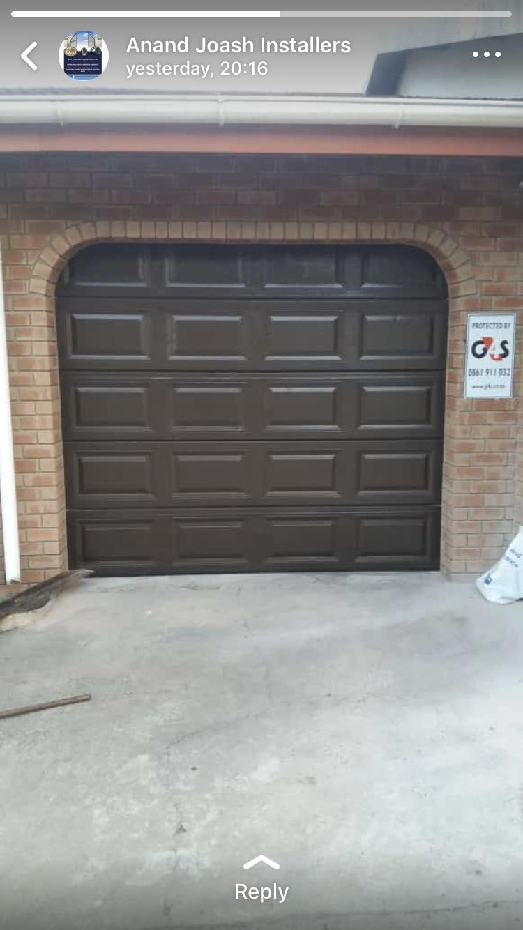 Garage Door Fitted @ R6600-00