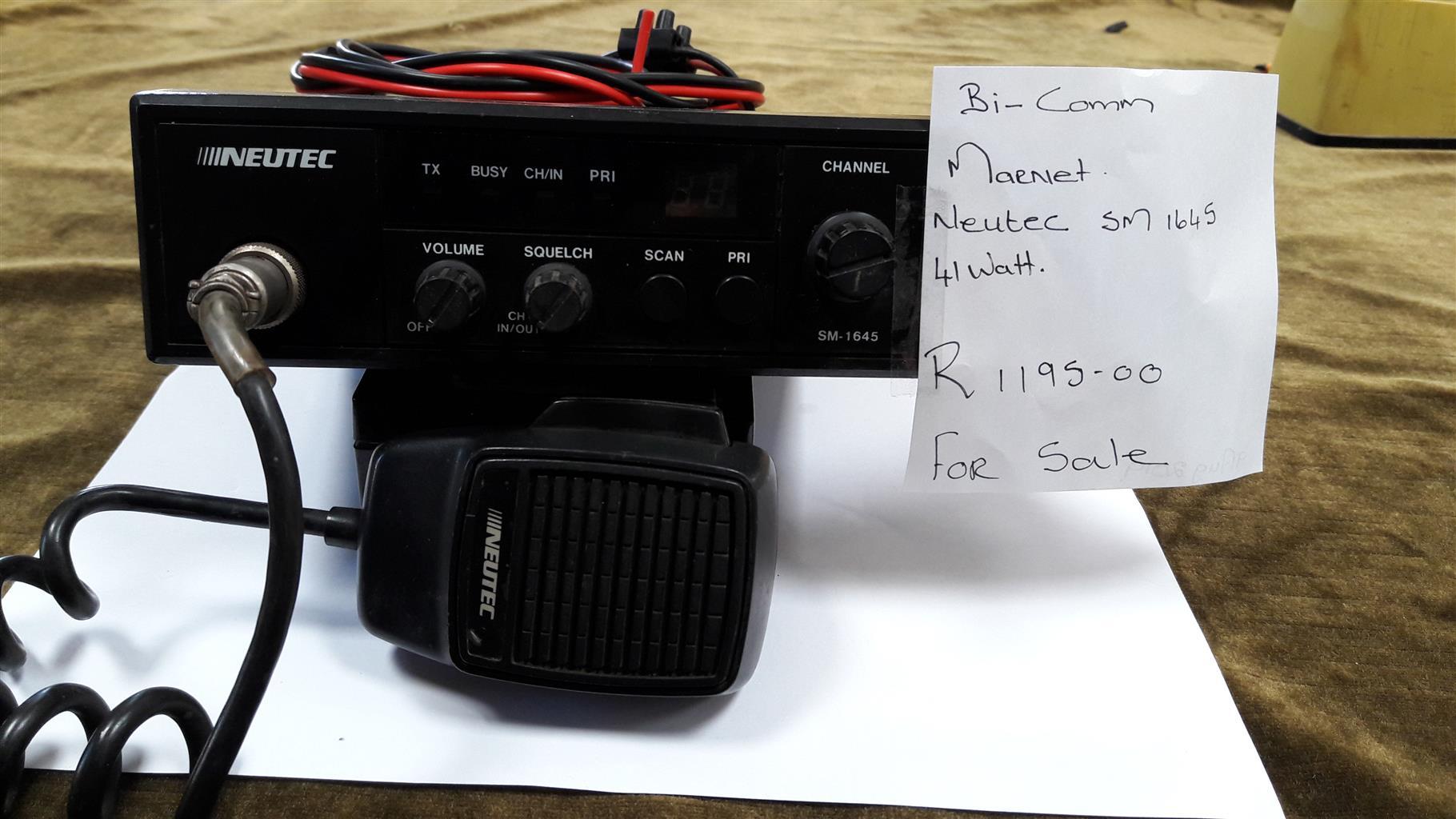 Radio For Sale