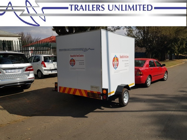 TRAILERS UNLIMITED 3000 X 1800 X 1800 ENCLOSED TRAILER.