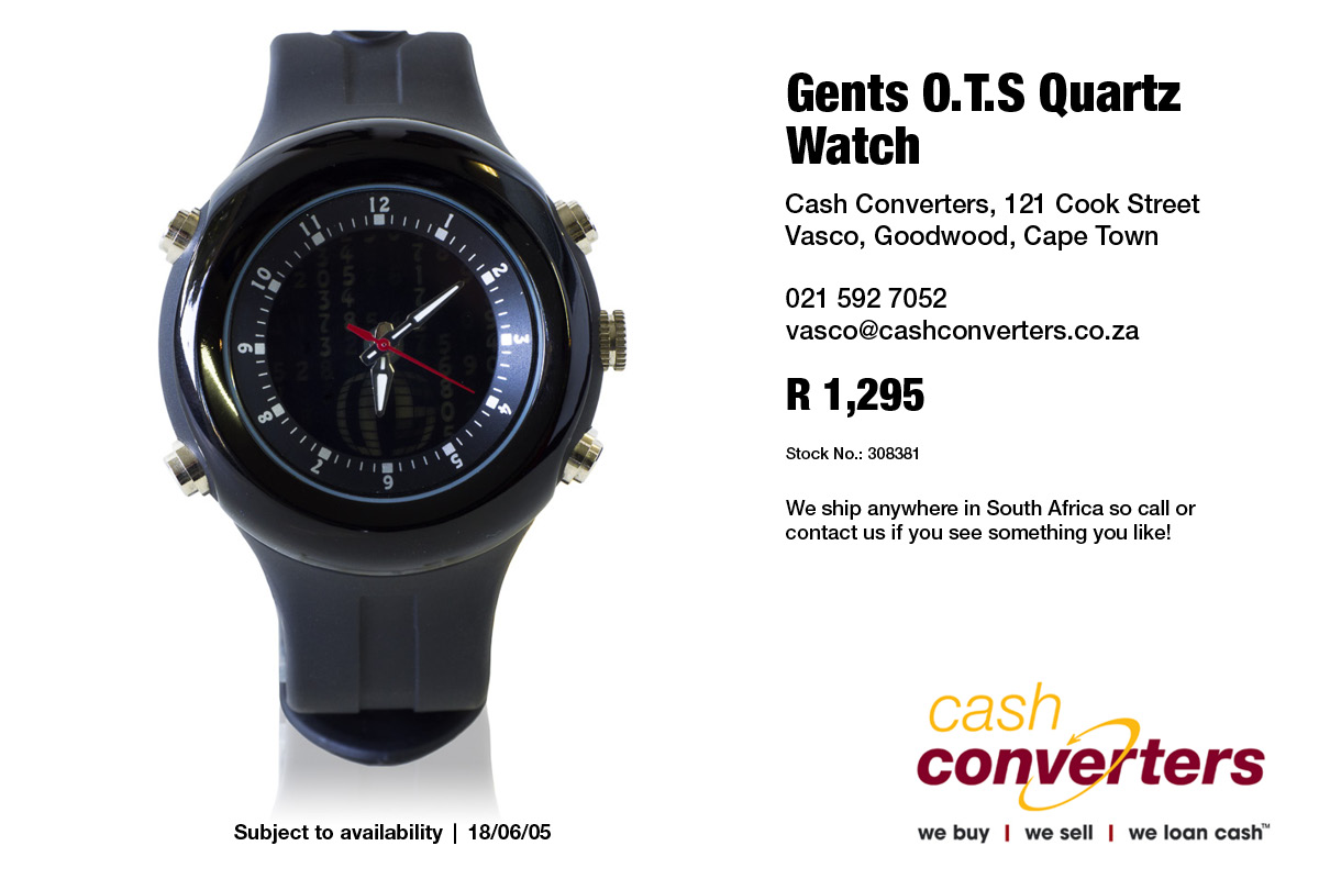 Gents O.T.S Quartz Watch