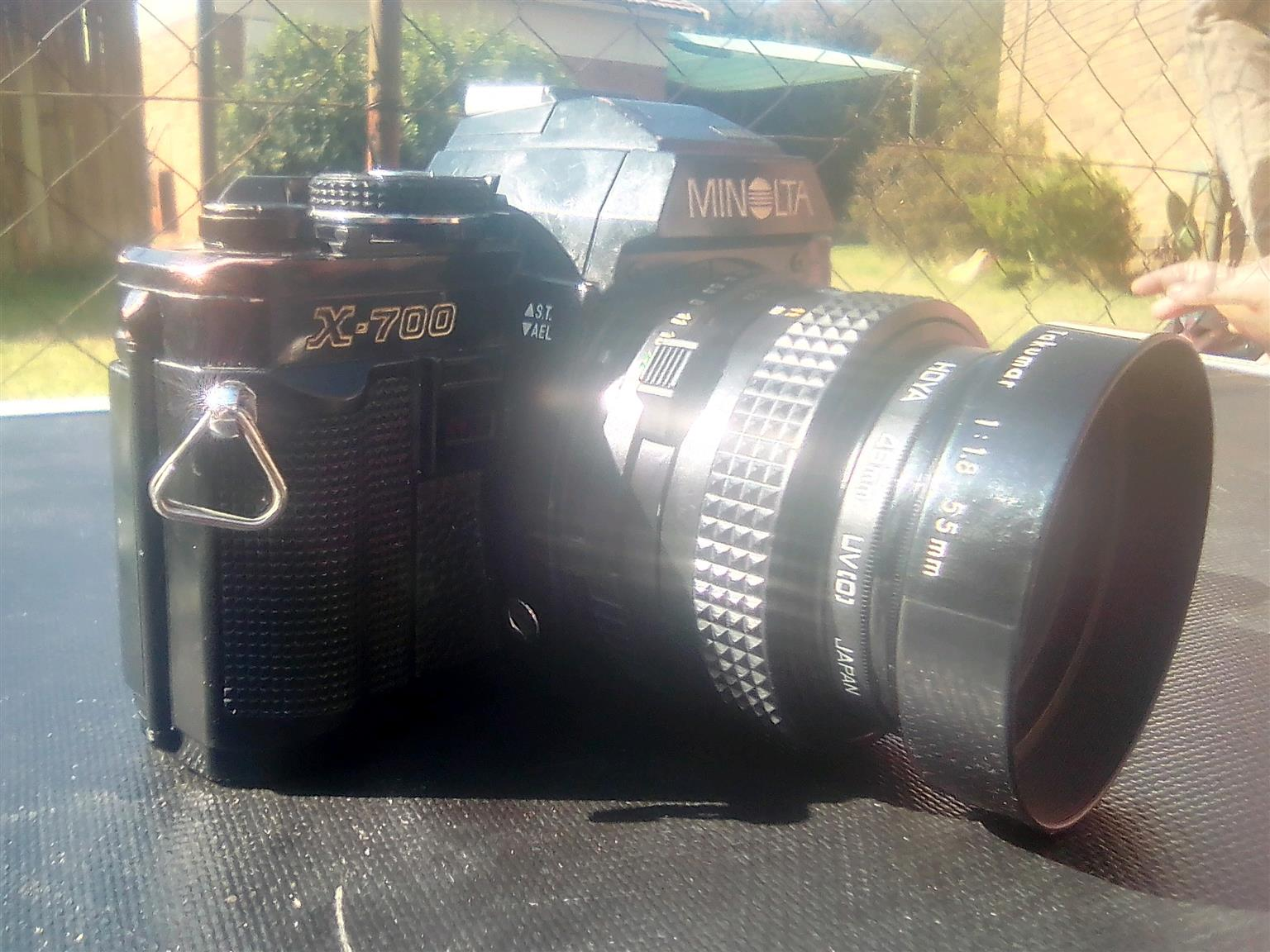 MINOLTA X-700 MPS WITH 50MM LENSE INCLUDED