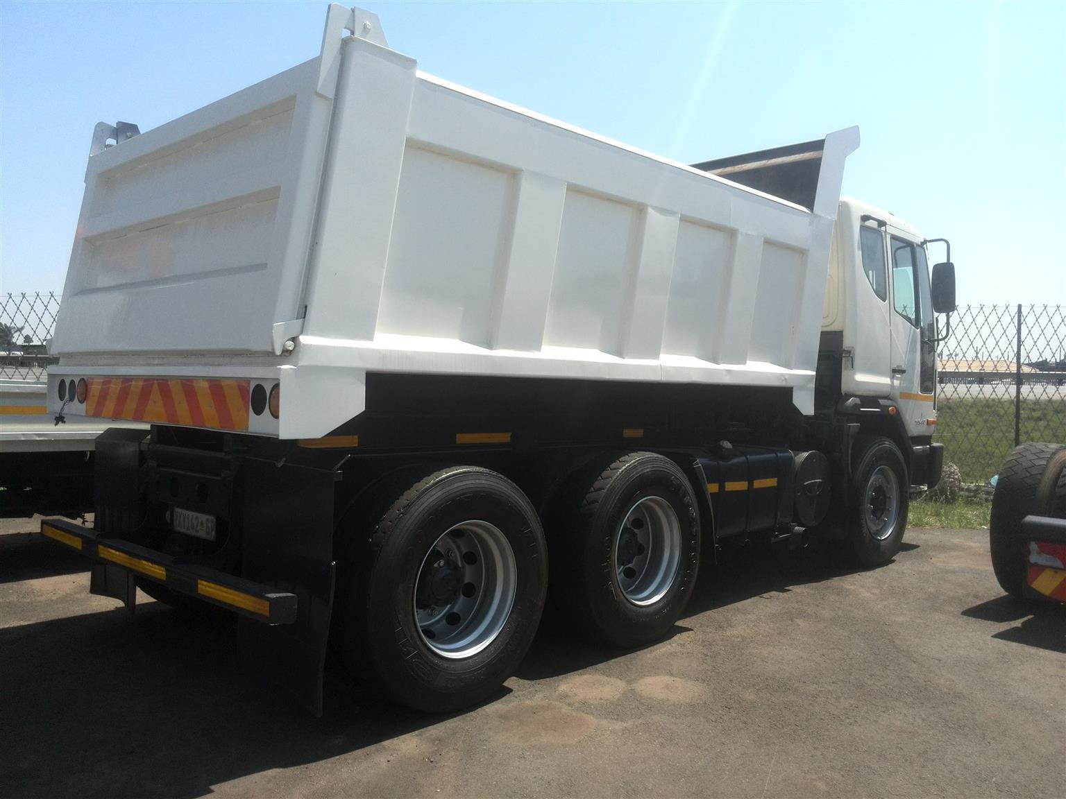 2008 - TATA Tipper  Truck for sale Posted by Lemeshen Pillay Ubuntu Truck Sales