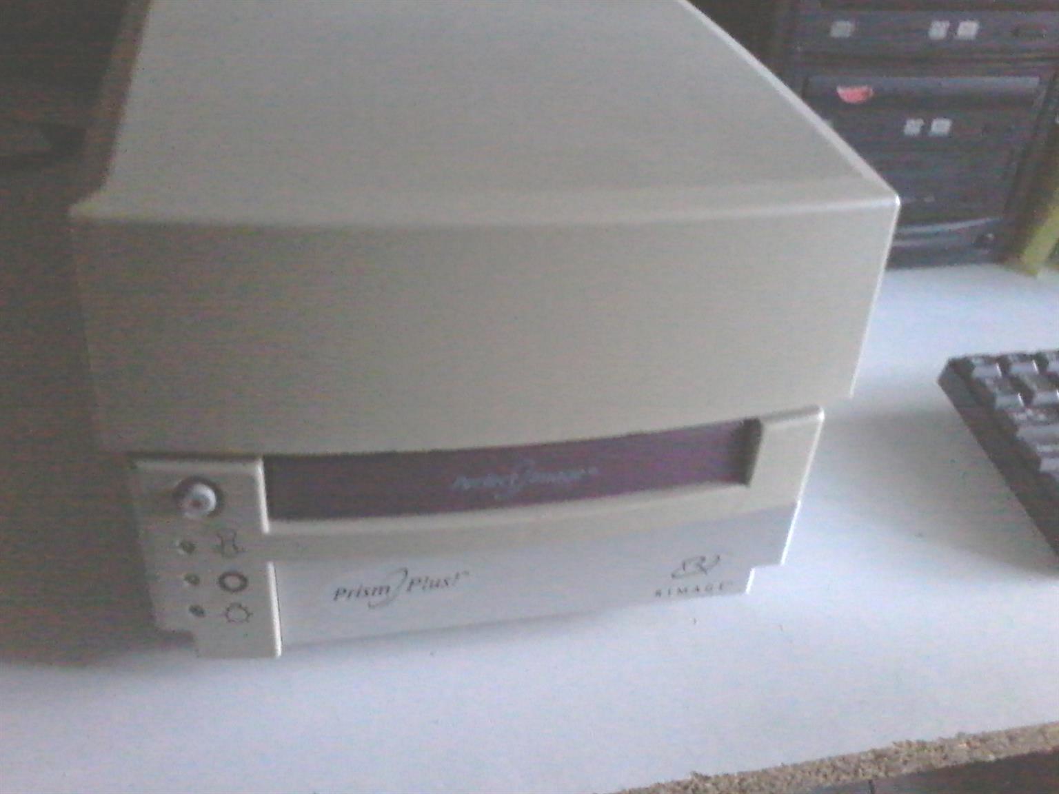 Rimage Prism plus printer with CD duplicator and computer
