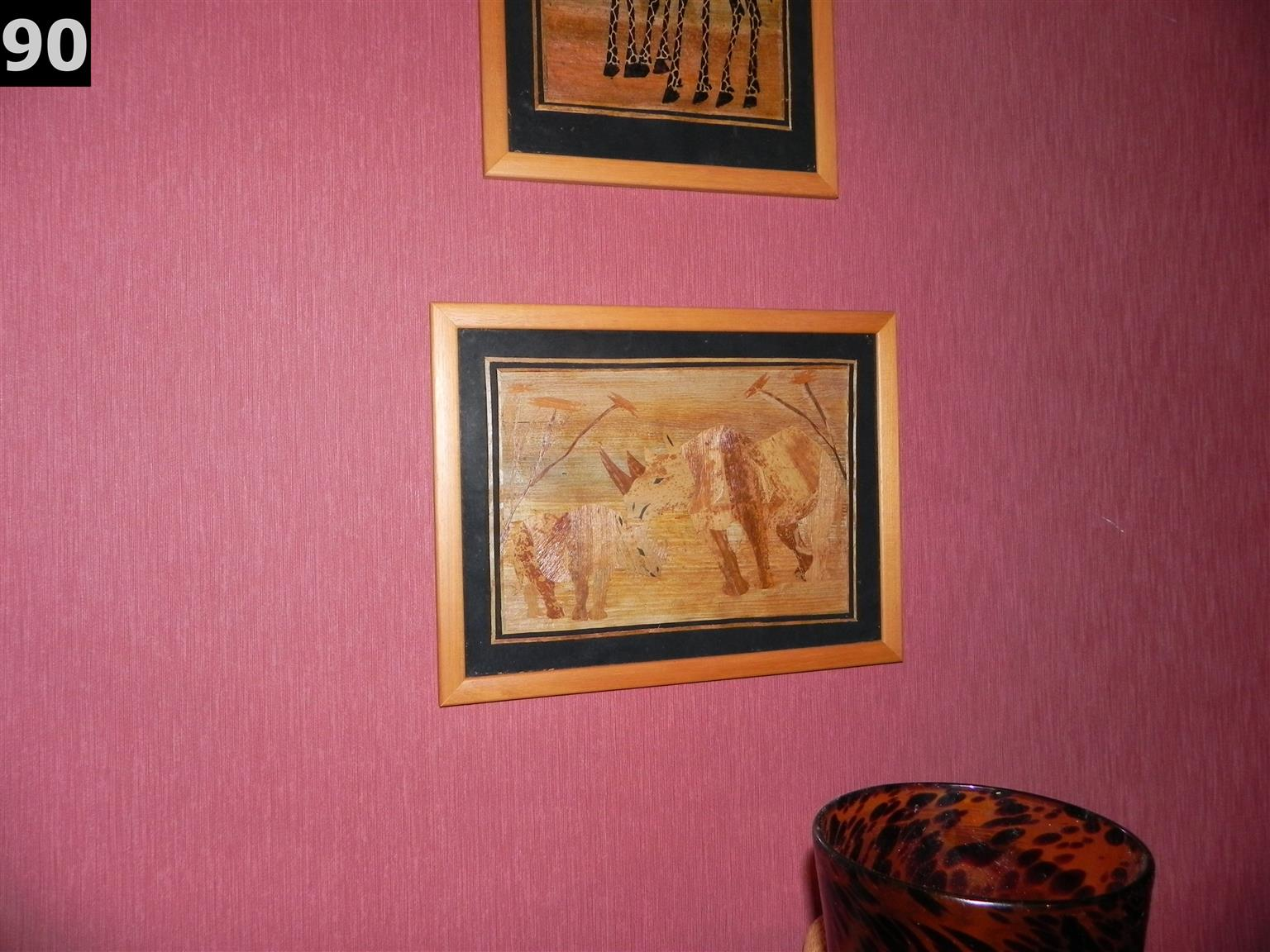 Large wall hanging - African art scene