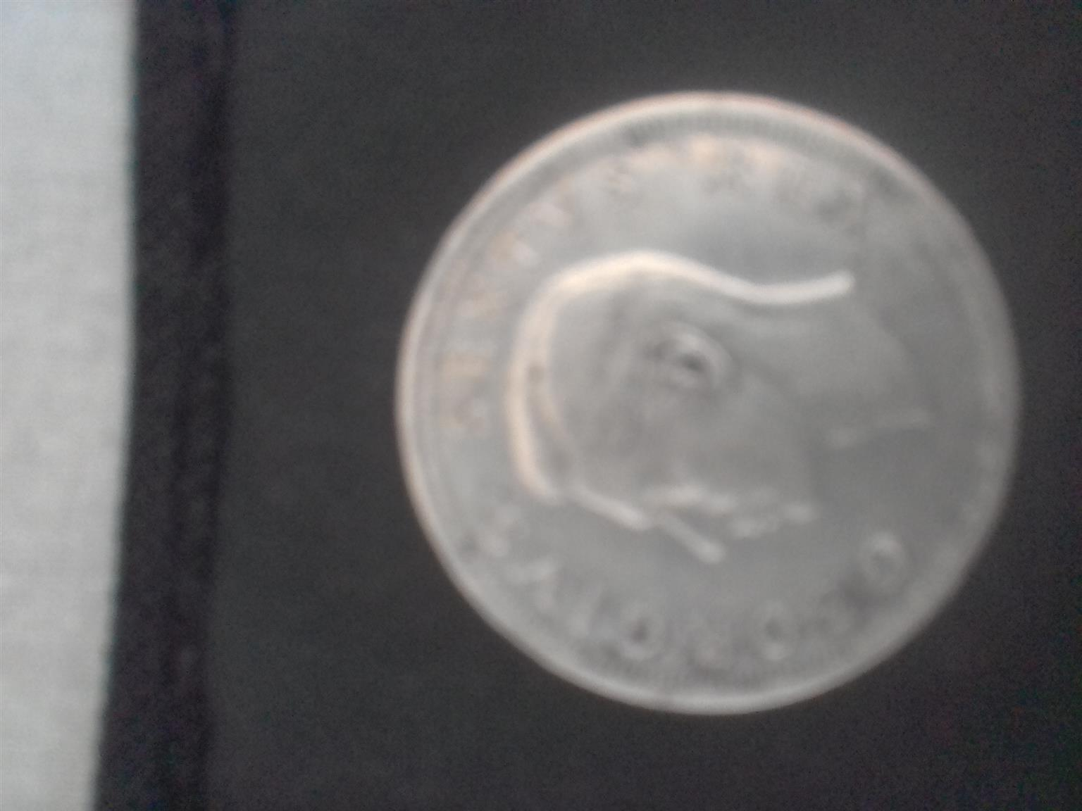 Rare SA Crowned 5 Shilling
