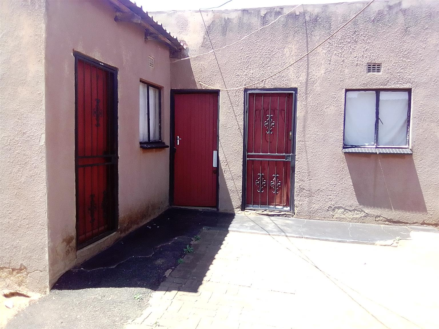 Two room with three back rooms for sale at ext20