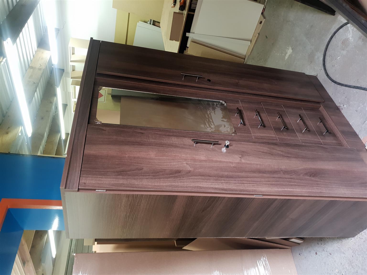 New brown  3 door Wardrobe
