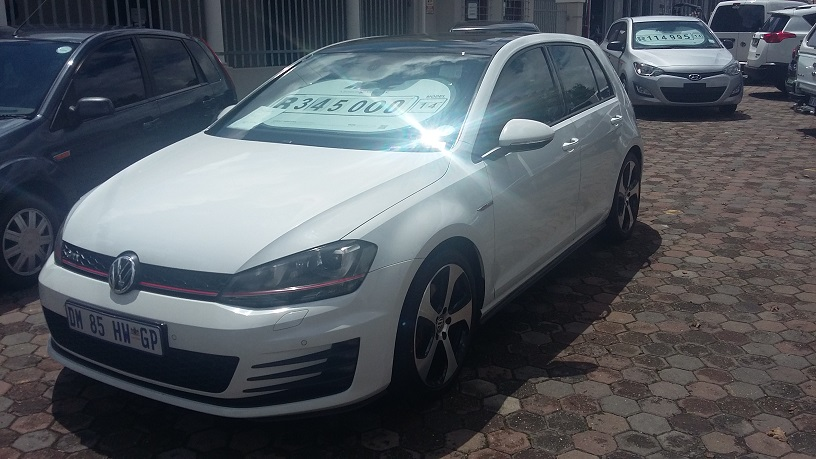 2014 VW Golf hatch GOLF VII GTi 2.0 TSI DSG