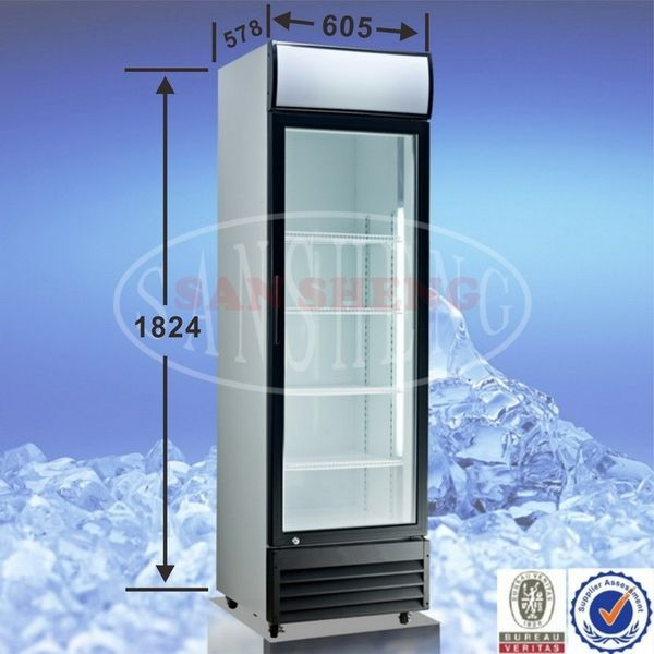 Beverage Cooler 216LT Single Sliding Door Hinged From R4995